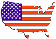 US Map & Flag